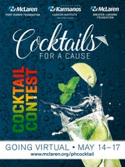 Cocktails for a Cause allows participants to vote for their favorite cocktails and donate to organizations like the McLaren Port Huron Foundation to raise funds for COVID-19 relief.
