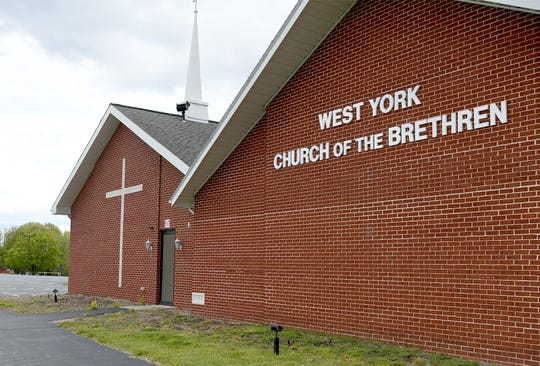 West York Church of The Brethren at 5101 Darlington Road Monday, May 11, 2020, will host a poll in upcoming elections. The former poll for that district was at the Northeastern Area EMS Building. Bill Kalina photo