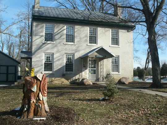 The old Charles House in the rose garden in Glen Miller Park was once a way station for runaway slaves on the Underground Railroad. The home may have hidden Eliza Harris and the original Uncle Tom, Josiah Henson, both of 'Uncle Tom's Cabin' fame.
