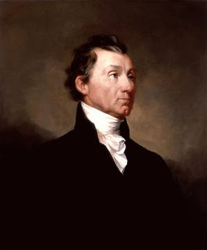 James Monroe was an American statesman, lawyer, diplomat and founding Father that served as the fifth President of the United States from 1817-1825. He signed a land purchase deed to a property in Richmond that ultimately was a way station to countless souls on the underground railroad.