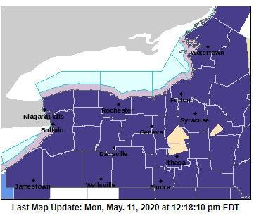 Frost Warning issued May 11