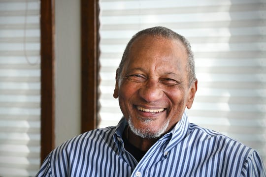Les Green is pictured at his home Wednesday, May 6, 2020, near St. Cloud.