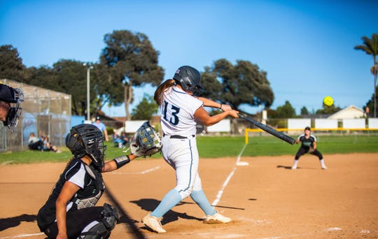 Olivia Vargas-Robledo hit .407 as a senior for the Buena High softball team.