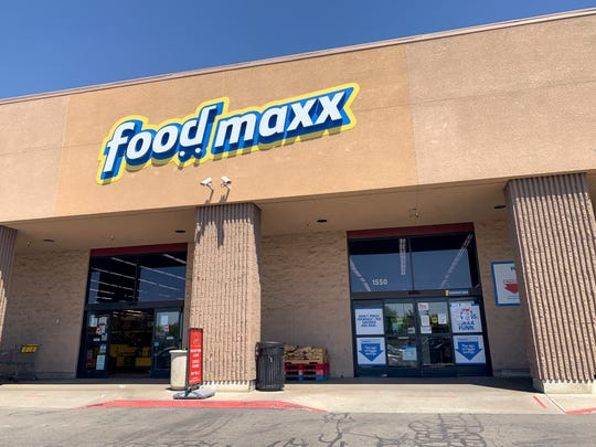 FoodMaxx in Visalia closed early Sunday night due to a positive test result for COVID-19. It reopened Monday morning after disinfecting and cleaning.