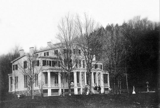 A look at Harmony Hall in Sloatsburg as seen in 1850.