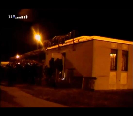 The Vaughn Files: Police break down the door to Building C