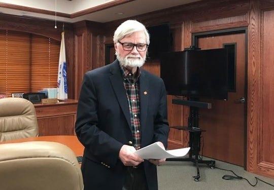 Wichita County Judge Woody Gossom