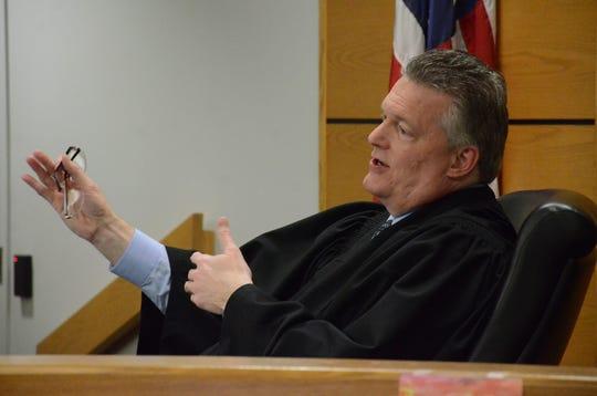 Calhoun County Chief Judge Michael Jaconette  Trace Christenson/The Enquirer