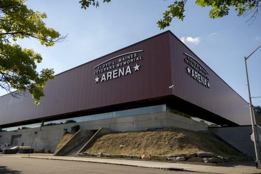 Floyd L. Maines Veterans Memorial Arena.