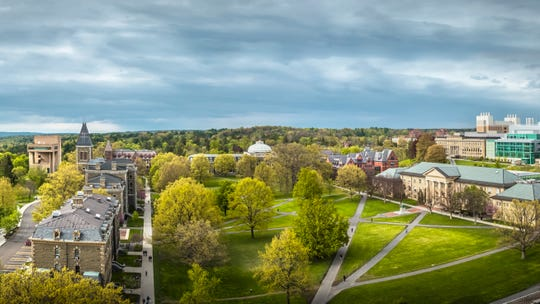 Spring scenes at Cornell University