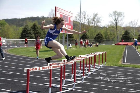 Lauryn Tadda was a two-sport spring athlete for the Lady Bulldogs.
