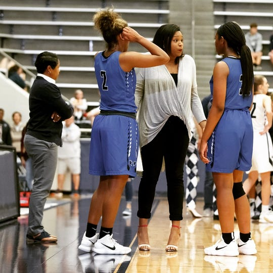 Chanice Smith has been named the new head girls basketball coach at Miller.