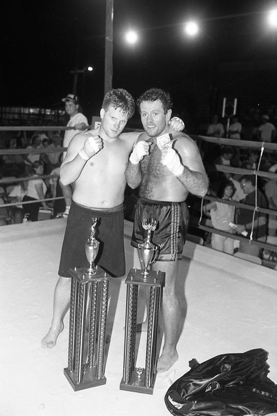 The second annual Toughman/Toughwoman Contest was held at the Ross County Fairgrounds in July 1993.