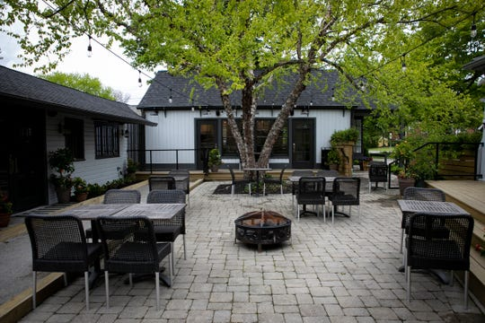 The Birch, in Terrace Park, is named for the birch tree that shades the outdoor patio area.