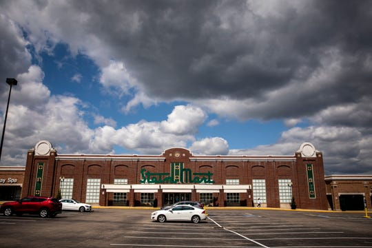 Rookwood Commons stores open on Tuesday, May 12, 2020. Retail opened in Ohio today after being closed since late March in response to the new coronavirus pandemic. It's a store-by-store decision, so not all stores will be open. REI and TJ Maxx at Rookwood Commons will both be closed.