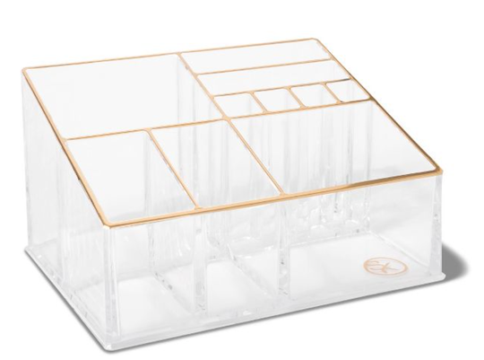 Sonia Kashuk Countertop Makeup Tray Organizer helps to declutter your home.