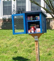 Linden middle schools' little libraries now offer food for those in need.