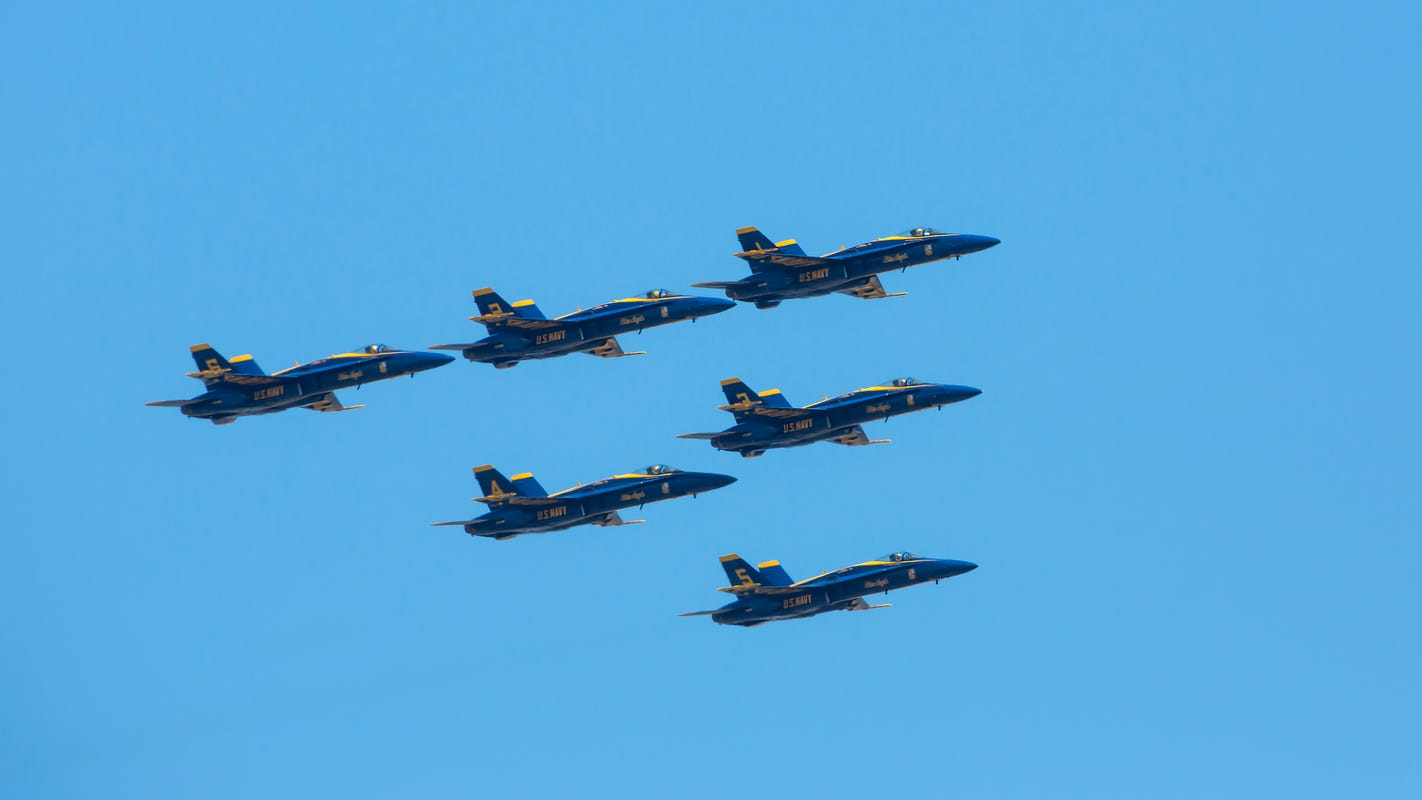 Organizers cancel Thunder Over Michigan air show over pandemic concerns