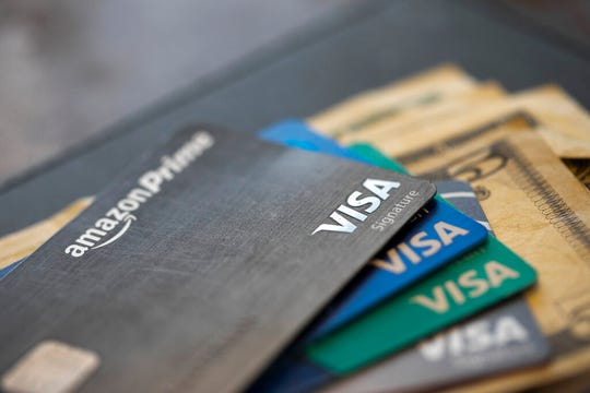 U.S. consumer borrowing fell in March for the first time in more than eight years, with the category covering credit cards dropping by the largest amount in over three decades, the Federal Reserve reported Thursday, May 7, 2020.