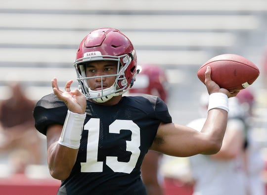 Tua Tagovailoa signed a $30.275 million, four-year guaranteed contract with the Miami Dolphins, a person familiar with the negotiations confirmed Monday to the Associated Press