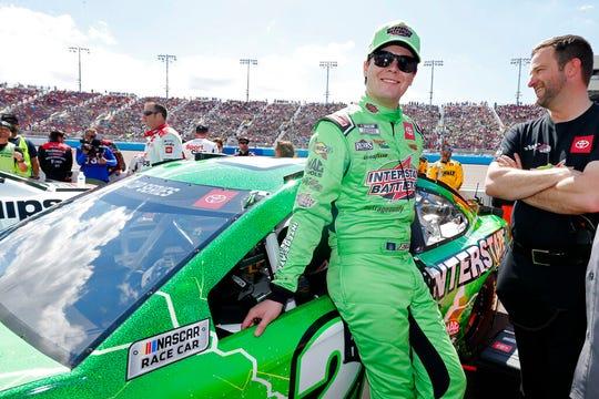 Erik Jones sits 21st in the NASCAR Cup Series standings through four races this season.