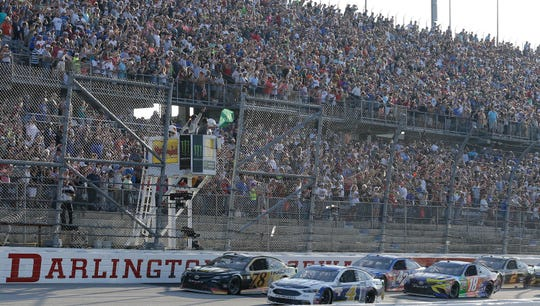 NASCAR will return Sunday with a race at Darlington Raceway in Darlington, South Carolina.