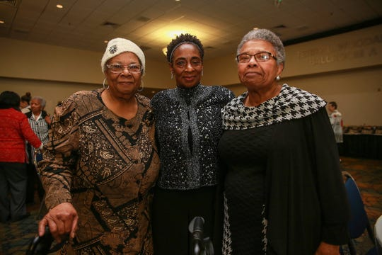 Mattie Hull, left, and Gloria Green McCray are sisters of James Earl Green, who was killed by law enforcement on May 15, 1970, on the campus of Jackson State College. Attorney Constance Slaughter-Harvey, right, a civil rights activist, fought for justice during that volatile period.
