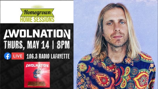 106.3 Radio Lafayette hosts Homegrown Sessions live shows through their Facebook page.