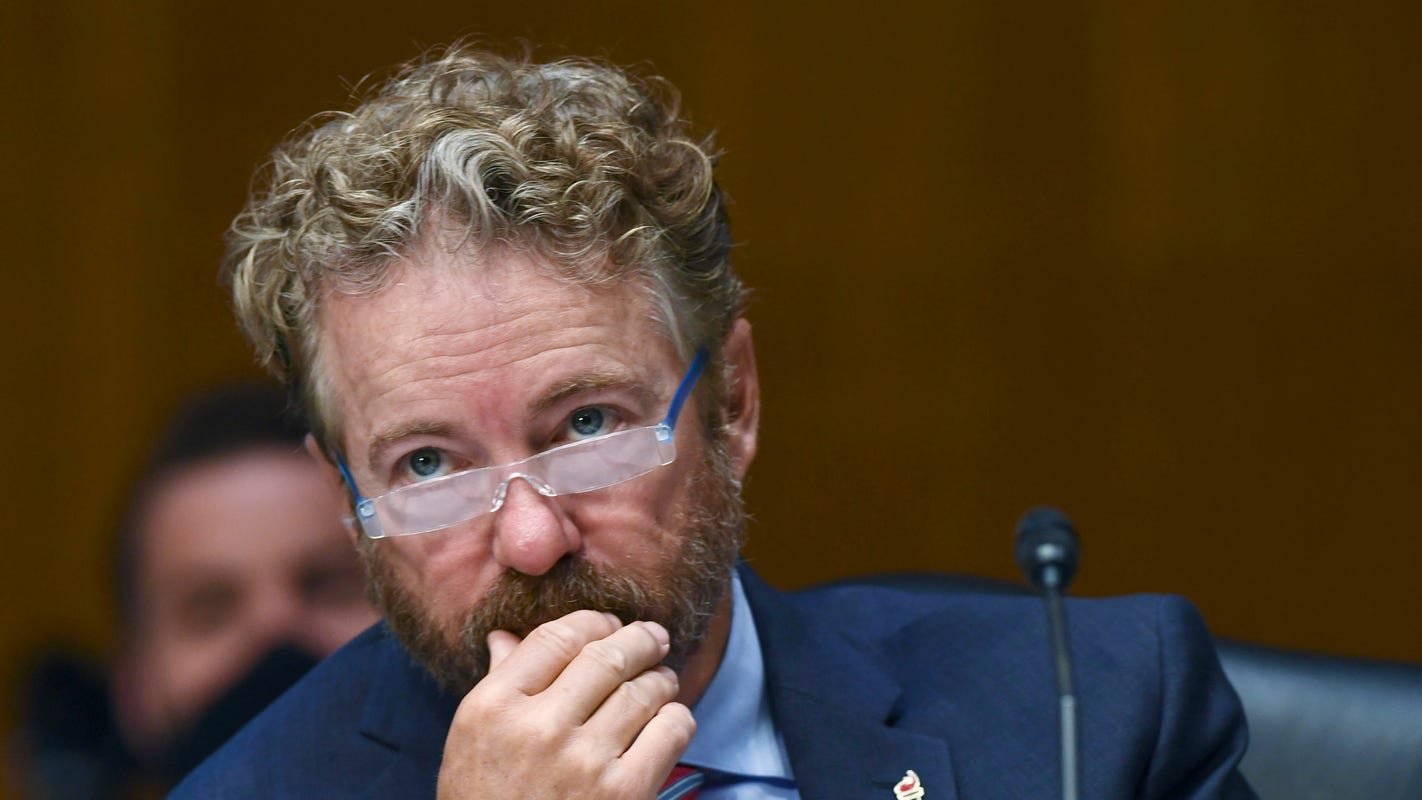 Rand Paul promotes unfounded COVID-19 immunity claims, says recovered patients should serve seniors at restaurants