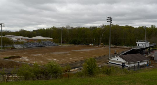 Construction continued last week at Granville's Walter J. Hodges Stadium in anticipation of its re-opening in September. Lt. Gov. Jon Husted said Monday he met with Jerry Snodgrass, Ohio High School Athletic Association executive director, regarding protocols for summer workouts during the coronavirus pandemic.