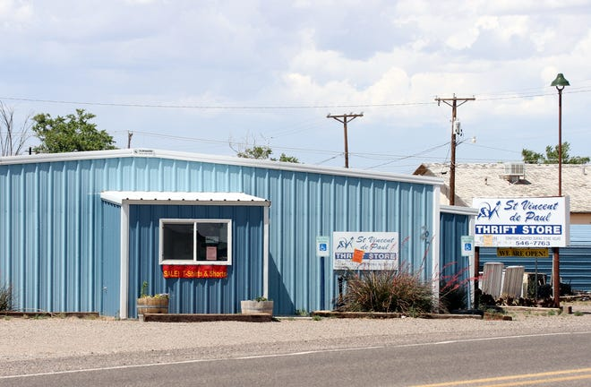 The St. Vincent de Paul Thrift Store is located at 400 S. 12th Street on Deming's west side.