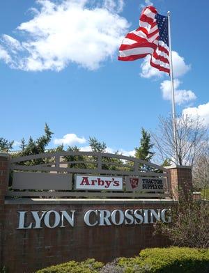 Lyon Crossing retail development in Lyon Township.