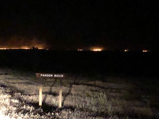 The Basin Fire has burned over 36,000 acres in the Grand Canyon-Parashant National Monument.