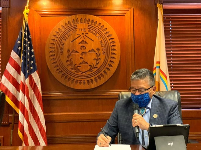Navajo Nation Vice President Myron Lizer announced the tribe extended its emergency declaration and government closures to June 7, 2020.