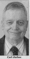 A photo of Carl Jarboe that ran in the Lebanon Daily News in 2005, when Jarboe was running in the primary for city council.