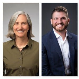 From left, Jenny Brekhus, JD Drakulich are running for Reno City Council Ward 1.