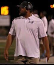 Parkway defensive coordinator Dillon Jackson