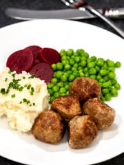 Using a food processors speeds up the mixing for Ikea's Swedish Meatballs.