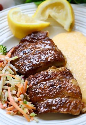 The seasoning recipe for blackened mahi-mahi is full of spices including oregano, and cumin.