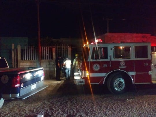 Three children died in a house fire in Juarez, Mexico, on Monday night, May 11, 2020.