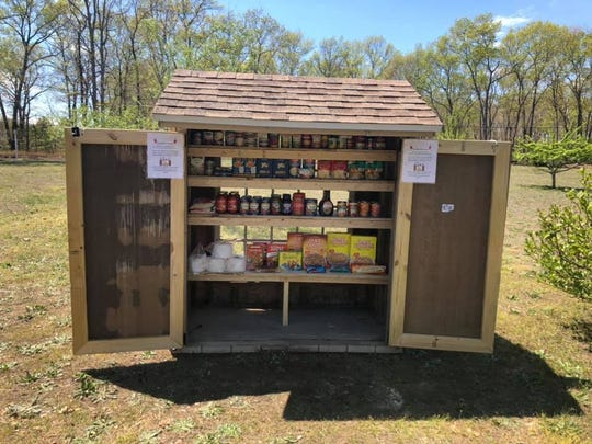 The Lawlor Family of Salem County, N.J. debuted a front yard food pantry open to those who need assistance during the COVID-19 pandemic.