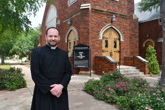 Father Brian Chase is the rector of the Church of the Good Shepherd. The church is planning a Downtown Rogation Procession on Monday, May 18 to help support downtown restaurants.