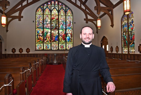 Father Brian Chase and the Church of the Good Shepherd are planning a Downtown Rogation Procession for Monday, May 18 to order meals to go from locally-owned downtown restaurants.