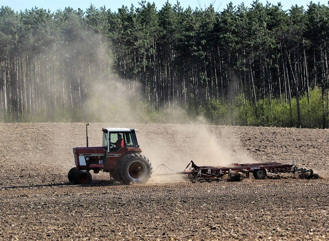 All of the states within the Seventh Federal Reserve District saw their farmland rise in value during the first quarter of 2020 when compared to last year, with the exception of Wisconsin.