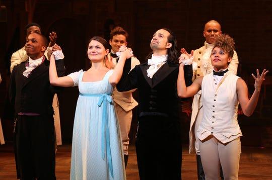 "Starring Lin-Manuel Miranda, ""Hamilton"" tells the life story of Founding Father Alexander Hamilton."