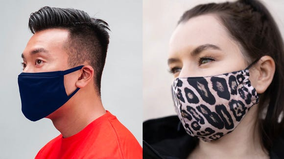 These fashionable masks are great cloth face coverings.
