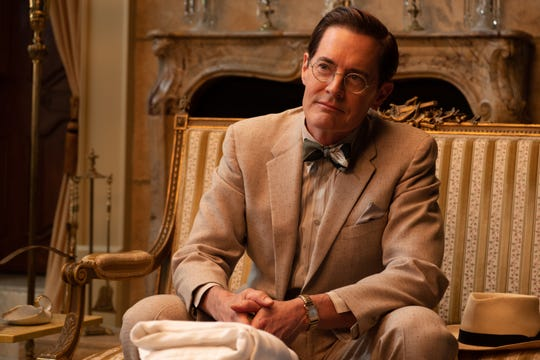 Kyle MacLachlan plays a mysterious doctor Karlock in