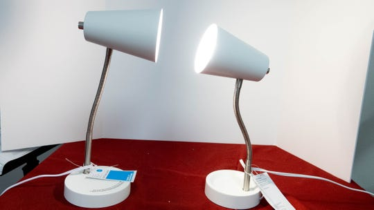 Two $7 lamps from Target