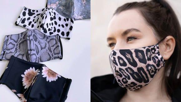 These masks are breathable—like yoga pants.