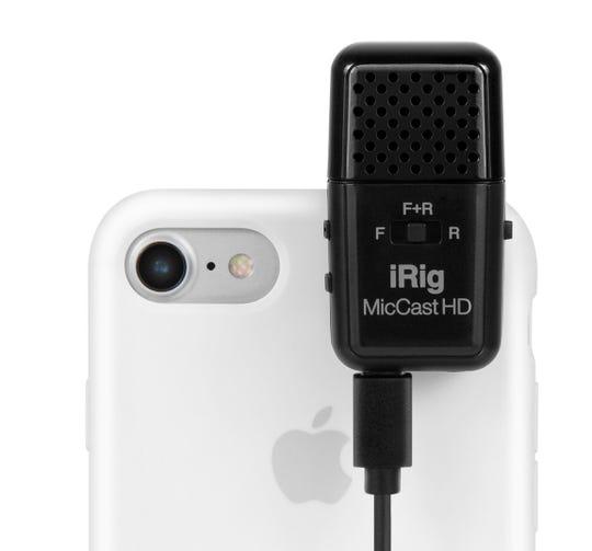 IK Multimedia's iRig Mic CastHD